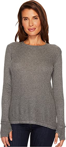 Allen Allen - Thermal Sweater Long Sleeve Thumbhole