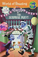 World of Reading: Vampirina The Surprise Party (Pre-Level 1 Reader): with stickers