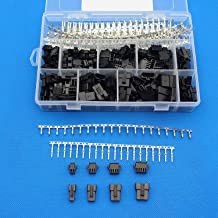 Raogoodcx 560Pcs 2.5mm Pitch 2 3 4 5 Pin JST SM Male & Female Plug Housing and Male/female Pin Header Crimp Terminals Connector Kit