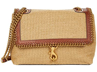 Rebecca Minkoff Edie Flap Shoulder with Woven Chain