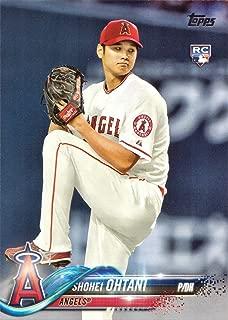 2018 Topps Baseball #700 Shohei Ohtani Rookie Card