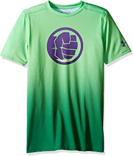 Under Armour Boys Alter Ego Marvel Fitted Baselayer Top