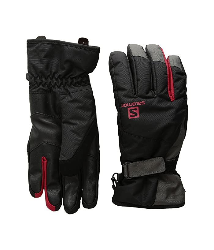 Salomon Force Dry M (Black/Forged Iron) Gore-Tex Gloves