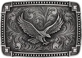 Men's Tied At The Corner Soaring Eagle Buckle - A566