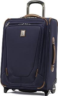 "Travelpro Crew 11 22"" Expandable Rollaboard Wheeled Suiter Suitcase, Patriot Blue (Blue) - 407162201"
