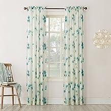 """No. 918 Kiki Curtain Panel, 51"""" x 95"""", Aegean Blue"""
