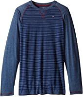 Tommy Hilfiger Kids - Alexa Stripe Jersey Long Sleeve Tee (Big Kids)