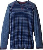 Tommy Hilfiger Kids - Alexa Stripe Jersey Long Sleeve Tee (Big Kids)