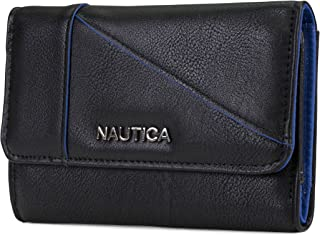 St. Abbys Point Womens Small Vegan Leather RFID Wallet