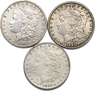 1884-1886 Morgan Silver Dollar Extremely Fine
