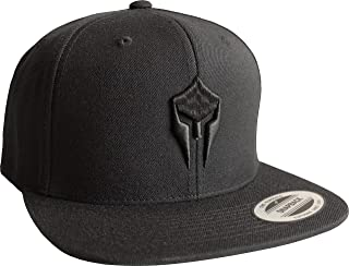 Cap: Sparta - Snapback Flexfit - Basecap - Urban Streetwear - Männer Mann Frau-en - Baseball-cap - Hip-Hop Rap - Mütze - Kappe - Spartan Train Hard - Retro - Gym - Fitness - Body - Muscle - 3D Stick
