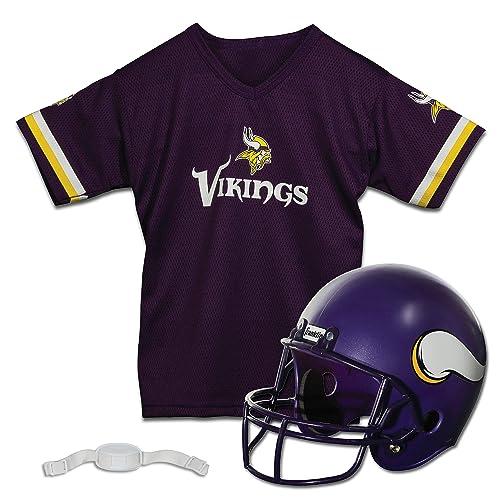 5f0d2da6c Franklin Sports NFL Team Licensed Youth Helmet and Jersey Set