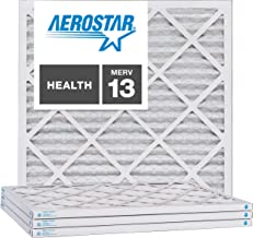 Nordic Pure 19/_3//4x21/_1//2x1 Exact MERV 8 Pleated AC Furnace Air Filters 3 Pack