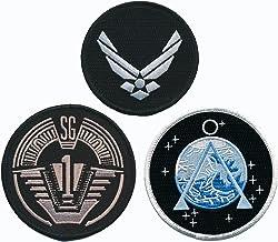 Stargate SG-1 Uniform/Costume Screen Accurate Patch Set of 3