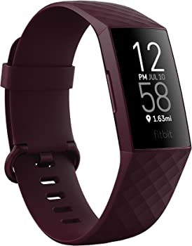 Fitbit Charge 4 Fitness and Activity Tracker Touchscreen Smart Watch