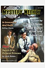Mystery Weekly Magazine: July 2016 (Mystery Weekly Magazine Issues Book 11) Kindle Edition