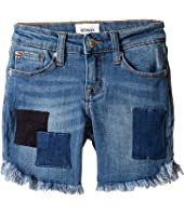 Hudson Kids - Shadow Midi Shorts in Beach Blue (Big Kids)