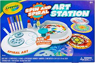 crayola spin art machine
