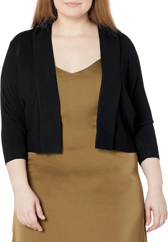 Calvin Klein Women's Plus-Size Open-Front Cardigan