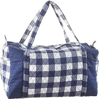 Darice 30043070 Gingham Navy, 20 x 15 inches Duffel Bag