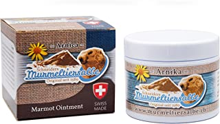 Drogerie Schneider Marmot Ointment, Muscle and Joints Pain Relief Cream, for All Ages of People and Athletes, Swiss Made (...