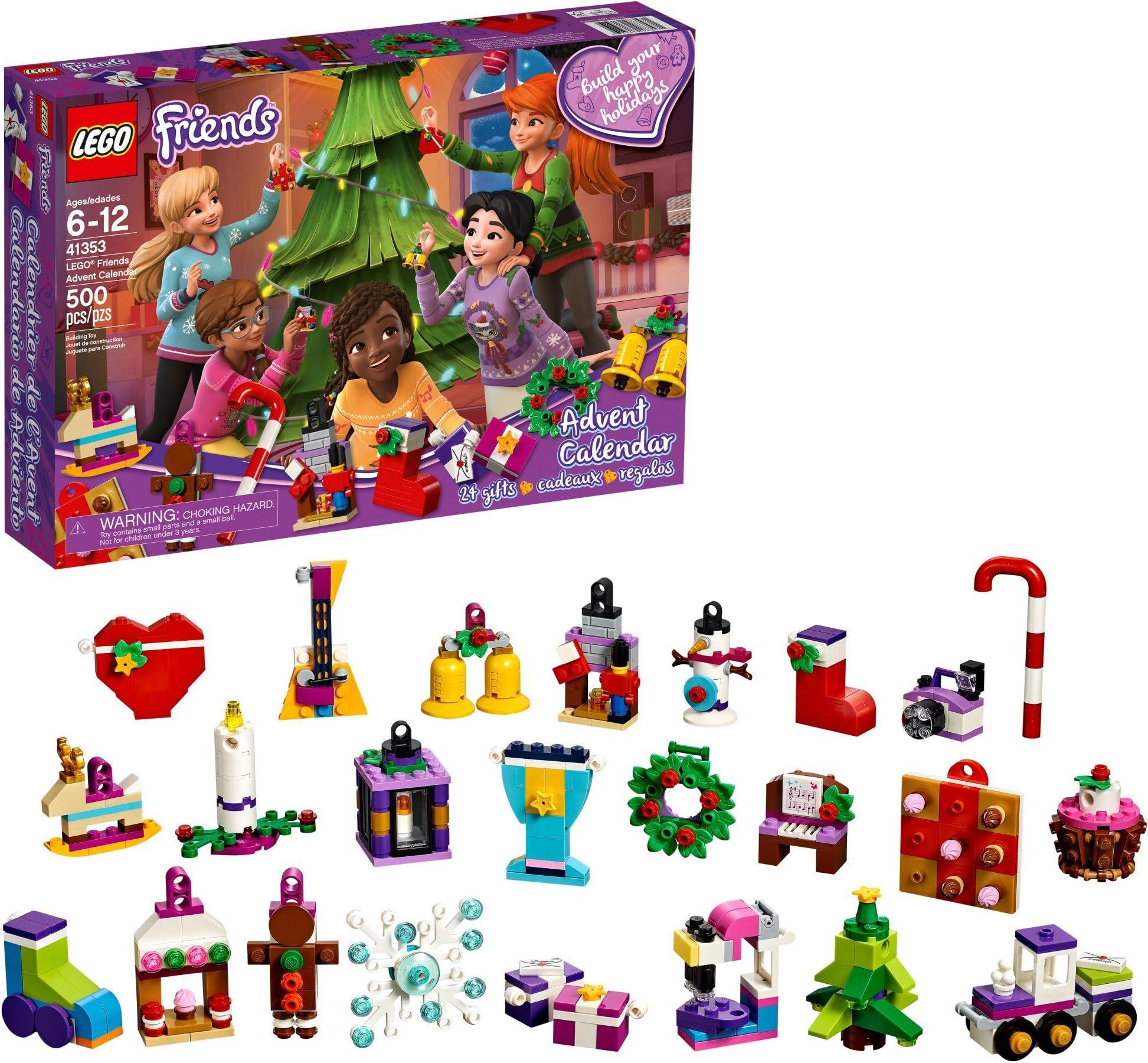 Lego October 2022 Calendar.Lego Friends Advent Calendar New 41382 Lego Building Toys Toys Hobbies