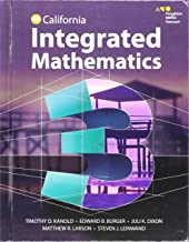 HMH Integrated Math 3: Student Edition 2015