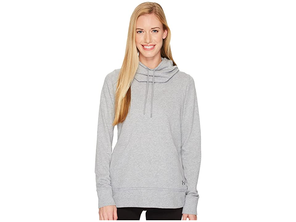 Under Armour French Terry Open Back (True Gray Heather/Rhino Gray) Women