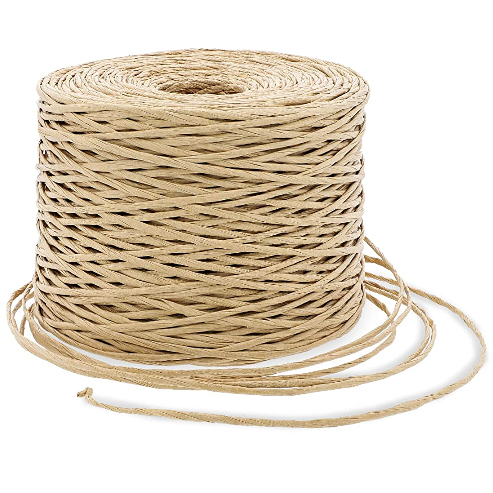 Bright Creations Bind Wire Twine for Flowers, Crafts, and Gift Wrapping, Beige, 26 Gauge, 822 Feet uuvnrnubm5766