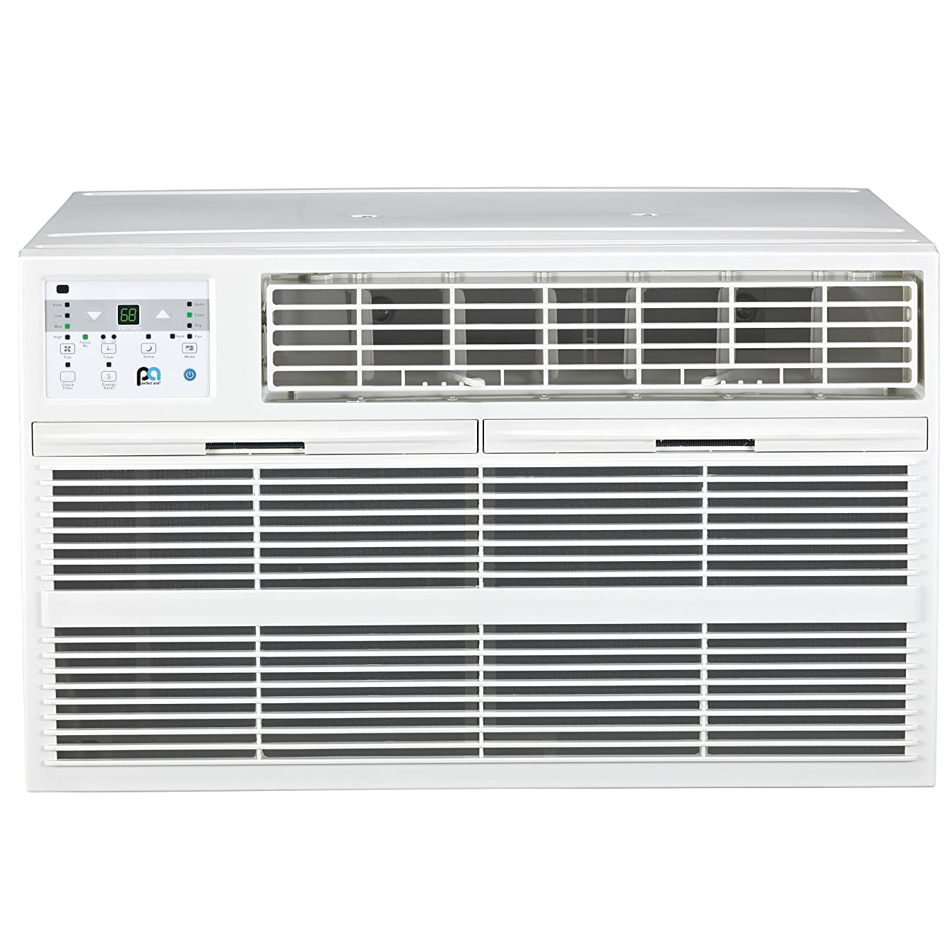 PerfectAire 3PATWH14002 Heat/Cool Air Conditioner with Remote Control, 13,600 BTU, White