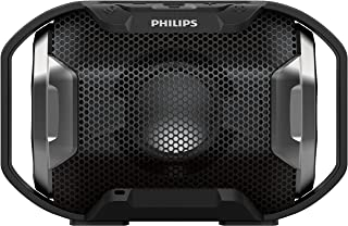 Philips Audio portable Bluetooth speaker SB300B/00 mobile Bluetooth speaker (big bass, Bluetooth, multi-coloured lights, h...