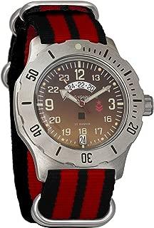 Vostok Komandirskie K-35 Mechanical AUTO Self-Winding Mens Military Wrist Watch #350754
