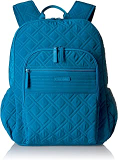 Vera Bradley Campus Tech Backpack, Microfiber Blue Size: One Size