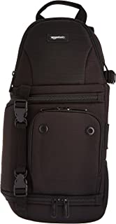 AmazonBasics Camera Sling Bag - 8 x 6 x 15 Inches, Black
