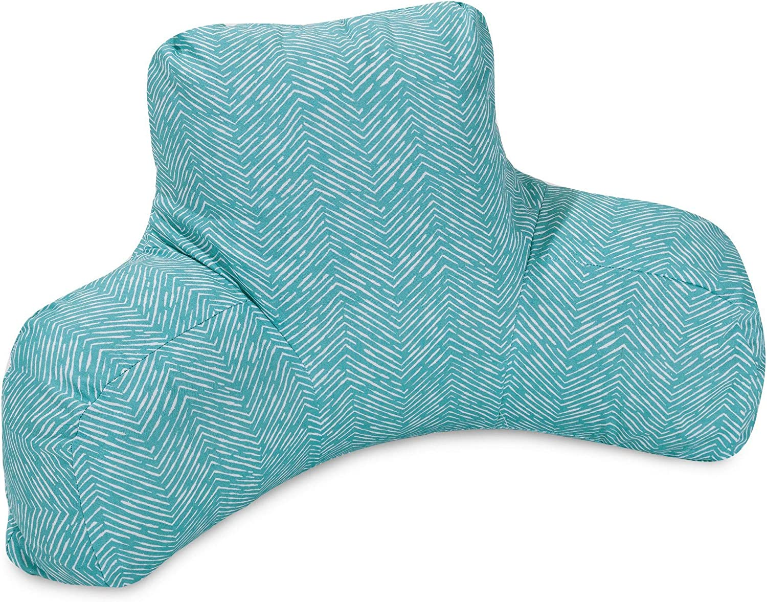 Majestic Home Goods Navajo Reading Pillow, Teal