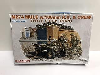 Dragon DML 1:35 NAM Series M274 Mule w/106mm RR Crew (Hue City 1968)