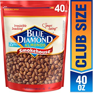 Blue Diamond Almonds, Smokehouse, 40 Ounce (Pack of 1)