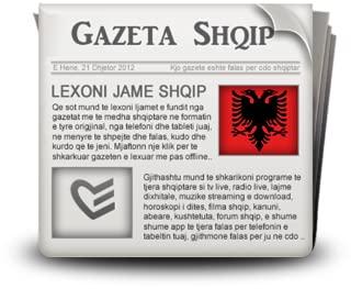 albanian newspapers