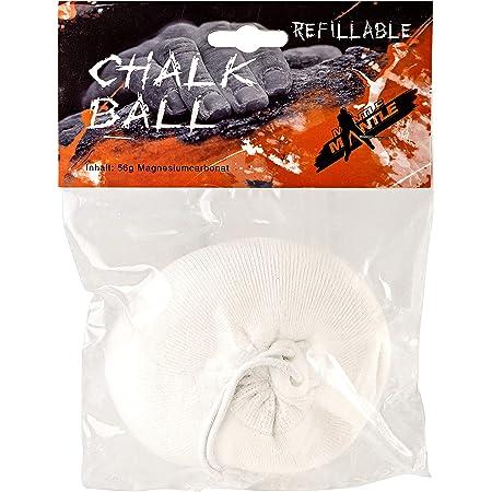 Mantle – Palla di calcare 56 g, ricaricabile, gesso da arrampicata in confezione da 1 o 3 pezzi di magnesia per arrampicata
