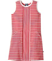 Toobydoo - Red Stripe Alexia Dress (Toddler/Little Kids/Big Kids)