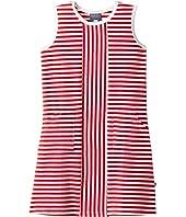 Toobydoo - Red Stripe Alexia Dress (Toddler/Little Kids/Big Kids)