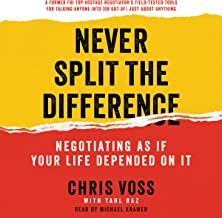never split the difference chris voss audiobook