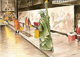 Lady Liberty - Liberty Cab Boxed Holiday Cards