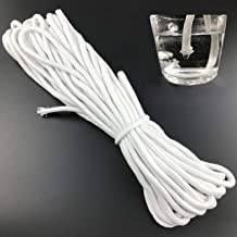 50 Feet Self Watering Capillary Wick Cord Vacation Plant Sitter DIY Self-watering Planter Pot Automatic Water Wicking Hydroponic System Device Potted African Violet Auto Seedling Waterer Rope String