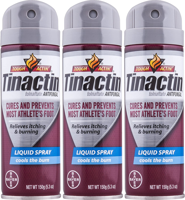 Tinactin Athletes Foot Max 69% OFF 67% OFF of fixed price Liquid Spray 5.3 oz Pack 3