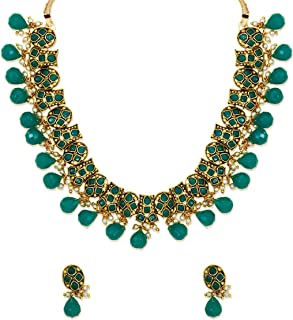 Zaveri Pearls Traditional Necklace Set for Women - ZPFK6137