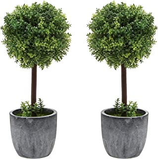 Best small silk topiary trees Reviews
