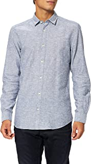 Only & Sons ONSCAIDEN LS SOLID LINEN SHIRT NOOS heren hemd