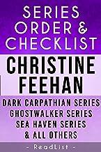 Christine Feehan Series Order & Checklist: Dark Carpathian Series, Sea Haven Series, Ghostwalker, Leopard Series Plus All ...