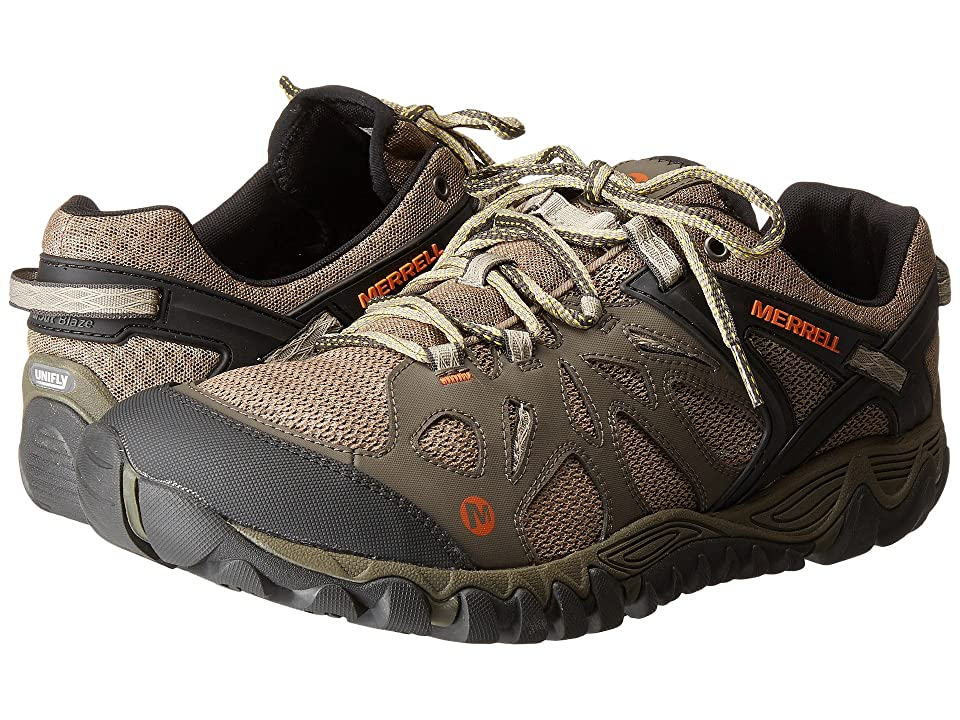 0619a7a551f1 Merrell All Out Blaze Aero Sport (Khaki) Men s Shoes